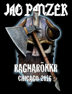 This is the shirt design from the upcoming gig at Ragnarokkr Chicago May 6 2016.